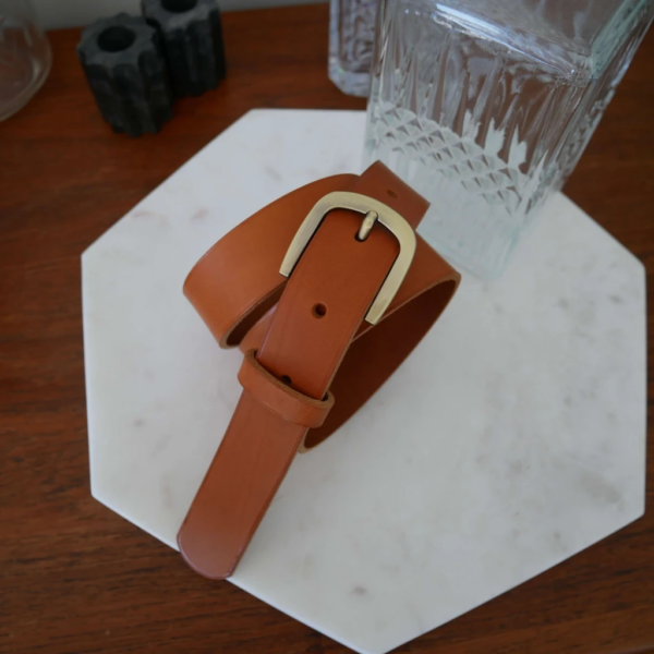 ceinture or vieilli