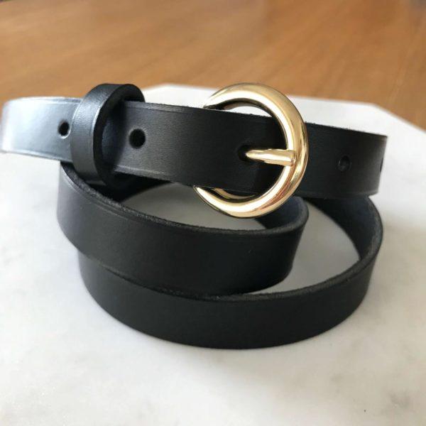 ceinture cuir naturel