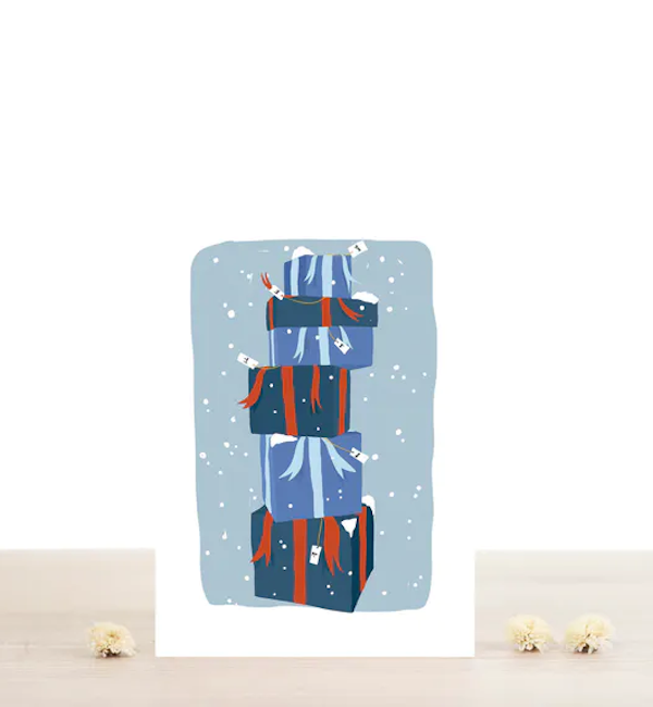 cadeaux-carte deux volets