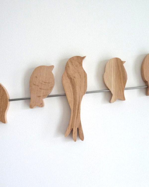 oiseaux bois déco