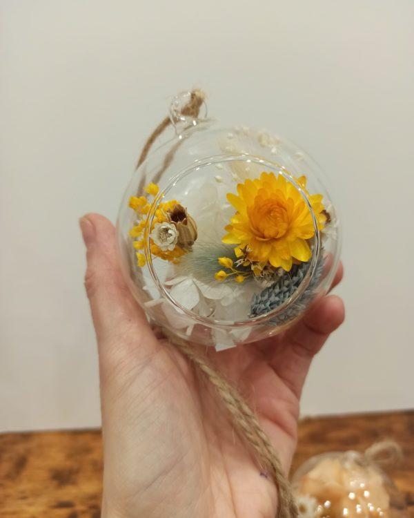 suspension fleur sechee