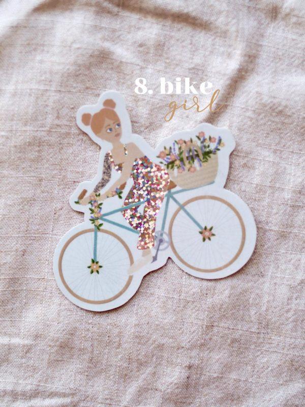 sticker-bike-girl