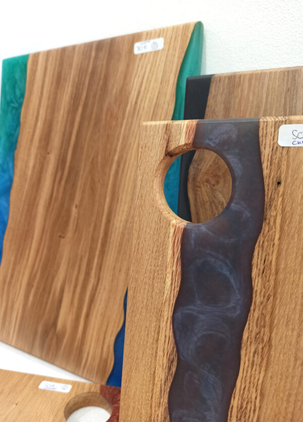 Wood art resin